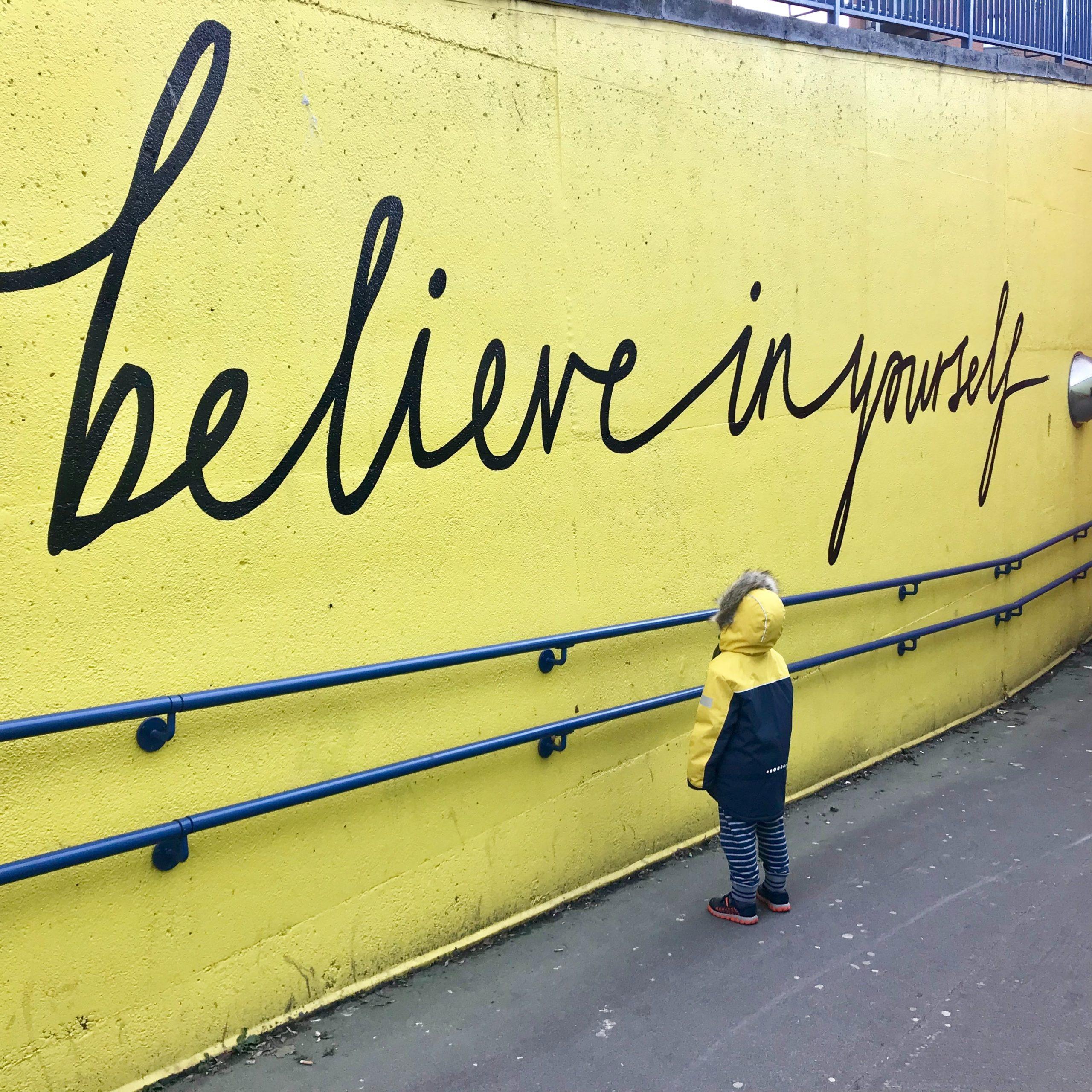 How to Develop Self-Belief