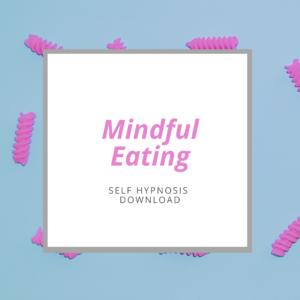 self-hypnosis mindful eating