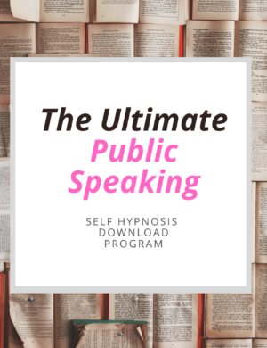 self-hypnosis for public speaking anxiety