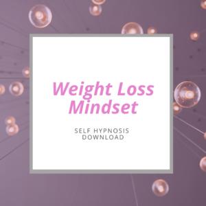self-hypnosis weight loss mindset