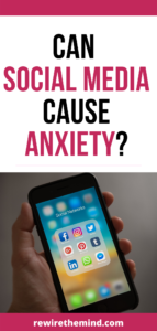 can social media cause anxiety?