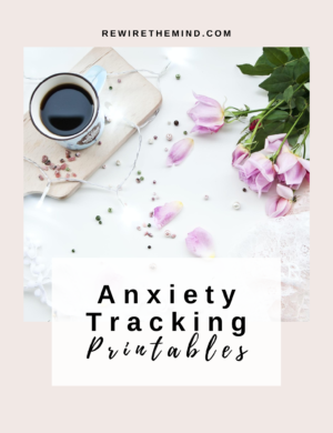 anxiety tracker printable