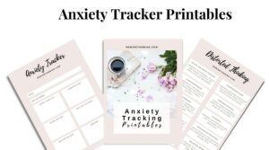 anxiety tracker printables