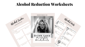 alcohol printables and worksheets