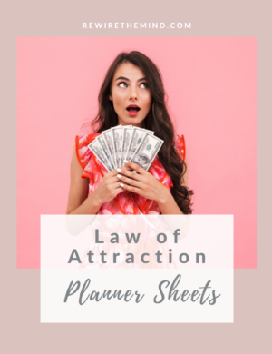 Law of Attraction Printables and Worksheetss