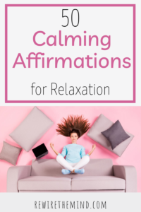 calming affirmations for relaxation