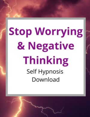 self-hypnosis stop worrying and negative thinking