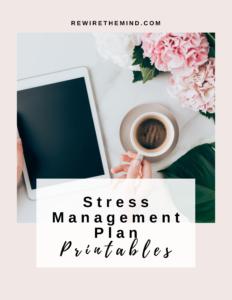 stress management worksheets pdf