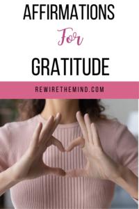 affirmations for gratitude