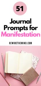 manifesting journal prompts