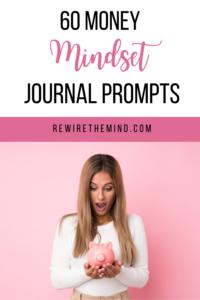 money mindset journal prompts